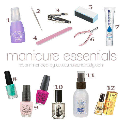 2013 06 03 Manicure Essentials on Kate & Trudy