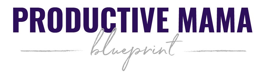productive mama blueprint logo
